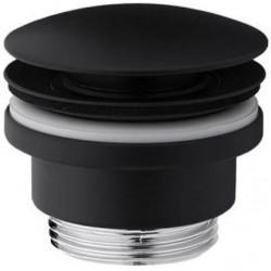 VEDO korek czarny mat umywalkowy klik-klak VSY4000CZ